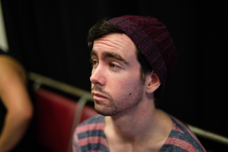 McArdle; deep in thought or half-asleep? Either way still inspiring Source: Supplied